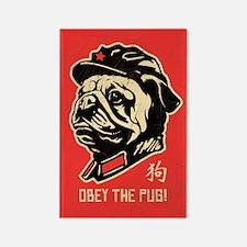Chairman PUG - Retro Propaganda Magnet