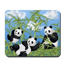 Panda Bears Mousepad