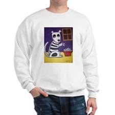 Sweatshirt with Day of the Dead Dog
