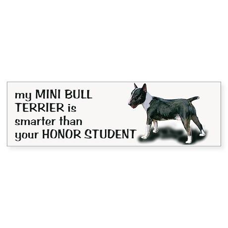 Minibull Bumper Sticker