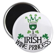 Irish WIne Princess Magnet