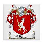 O'Fallon Family Crests Tile Coaster