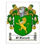 O'Farrell Family Crest Small Poster