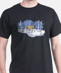 Scenic Winter Andalusian Christmas T-Shirt