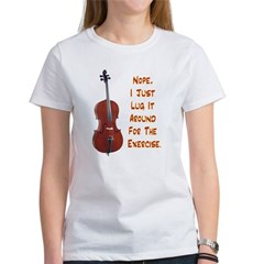 Cello for the Exercise Tee