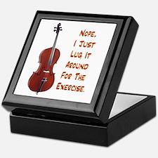 Cello for the Exercise Keepsake Box