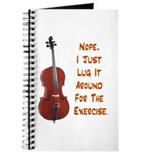 Cello for the Exercise Journal