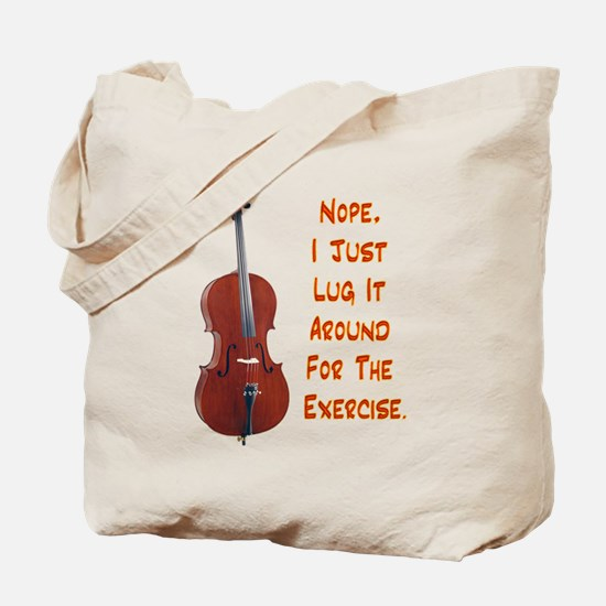Cello for the Exercise Tote Bag