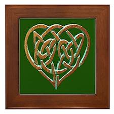 """""""HEARTS ENTWINED"""" Framed Tile"""