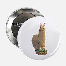 """Happy Easter Alpaca 2.25"""" Button"""