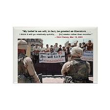 Cheney Iraq prediction Magnet