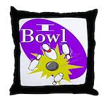 I Bowl Throw Pillow