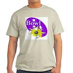 I Bowl Ash Grey T-Shirt