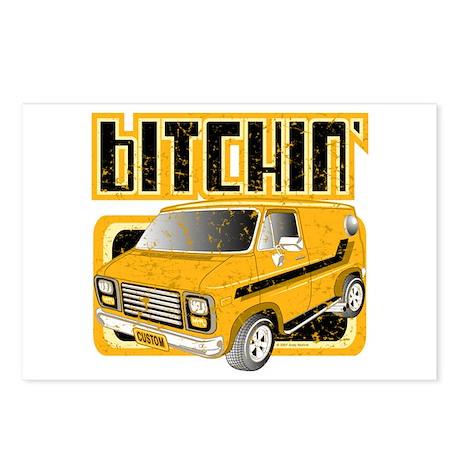 70s Retro Chevy Van Postcards (Package of 8)