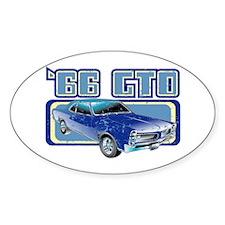 1966 Pontiac GTO Oval Decal