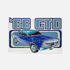 1966 Pontiac GTO Rectangle Magnet