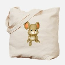Quiet Brown Mouse Tote Bag