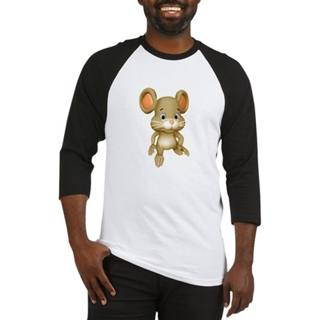 Quiet Brown Mouse Baseball Jersey