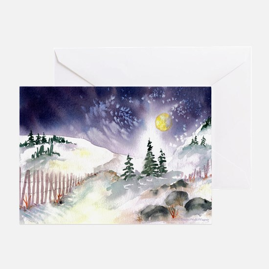 Winter Wonderland Happy Holidays Card