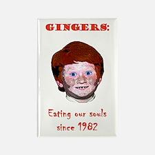 Soul Eating Ginger Rectangle Magnet