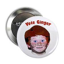 """2.25"""" Vote Ginger Campaign Button"""