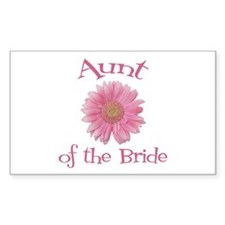 Daisy Bride's Aunt Rectangle Decal