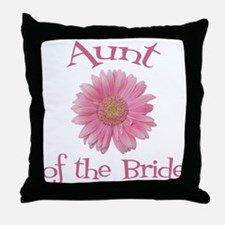 Daisy Bride's Aunt Throw Pillow