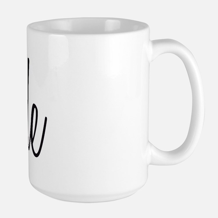 Bride (Black Script With Heart) Mug