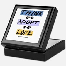 Think Adopt Love Keepsake Box