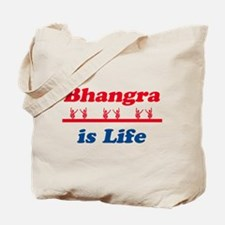 Bhangra Is Life Tote Bag