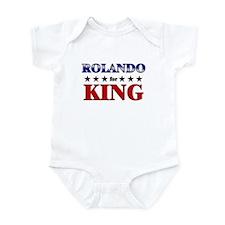 ROLANDO for king Infant Bodysuit