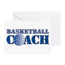 Basketball Coach Greeting Card
