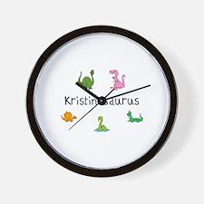Kristinaosaurus Wall Clock