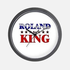 ROLAND for king Wall Clock