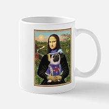 Mona Lisa & Sir Pug Mug