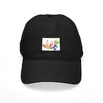 Sea Monster Black Cap