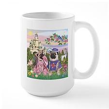 Sir Pug & Princess Mug