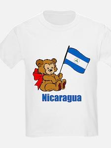 Nicaragua Teddy Bear T-Shirt