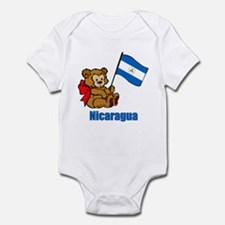 Nicaragua Teddy Bear Onesie