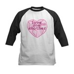 Love One Another Kids Baseball Jersey