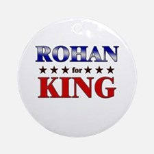 ROHAN for king Ornament (Round)