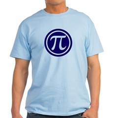 Light Color Pi Emblem T-Shirt