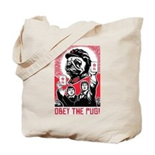 Follow Chairman PUG -Propaganda Tote Bag