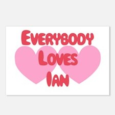 Everybody Loves Ian Postcards (Package of 8)