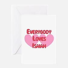 Everybody Loves Isaiah Greeting Card