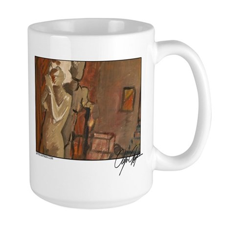 """Three Muse"" Large Mug"