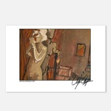 """""""Three Muse"""" Postcards (Package of 8)"""