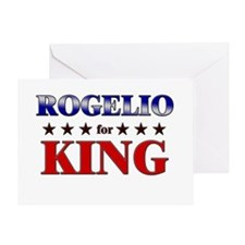 ROGELIO for king Greeting Card