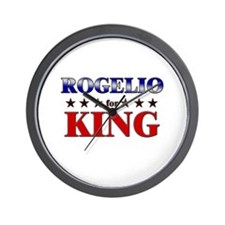 ROGELIO for king Wall Clock