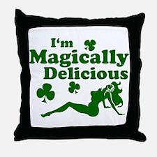 Magically Mudflap Throw Pillow
